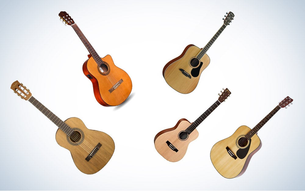 These are our picks for the best acoustic guitars on Amazon.