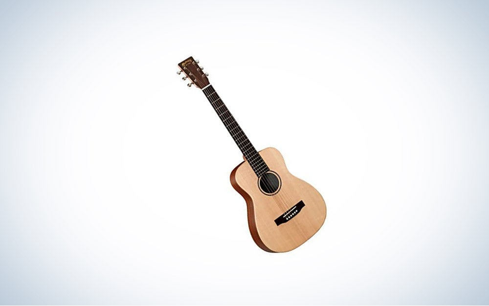 Martin LX1 Little Martin Acoustin Guitar is best ¾ scale.