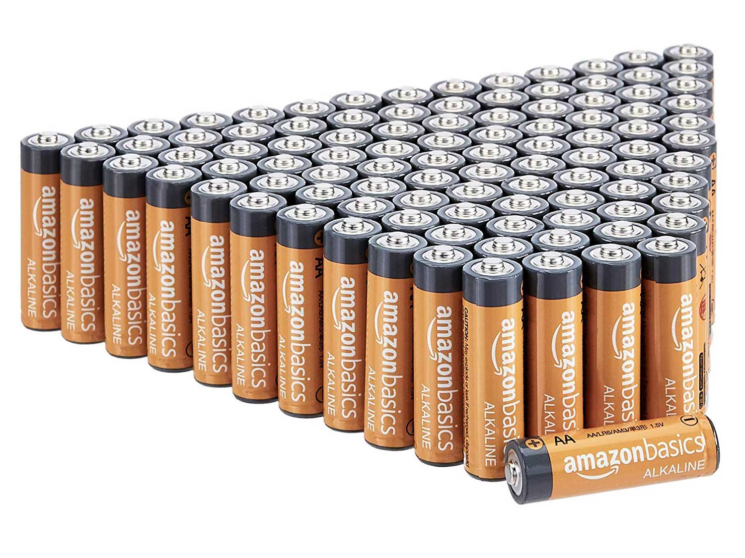 AmazonBasics AA 1.5 Volt Performance Alkaline Batteries
