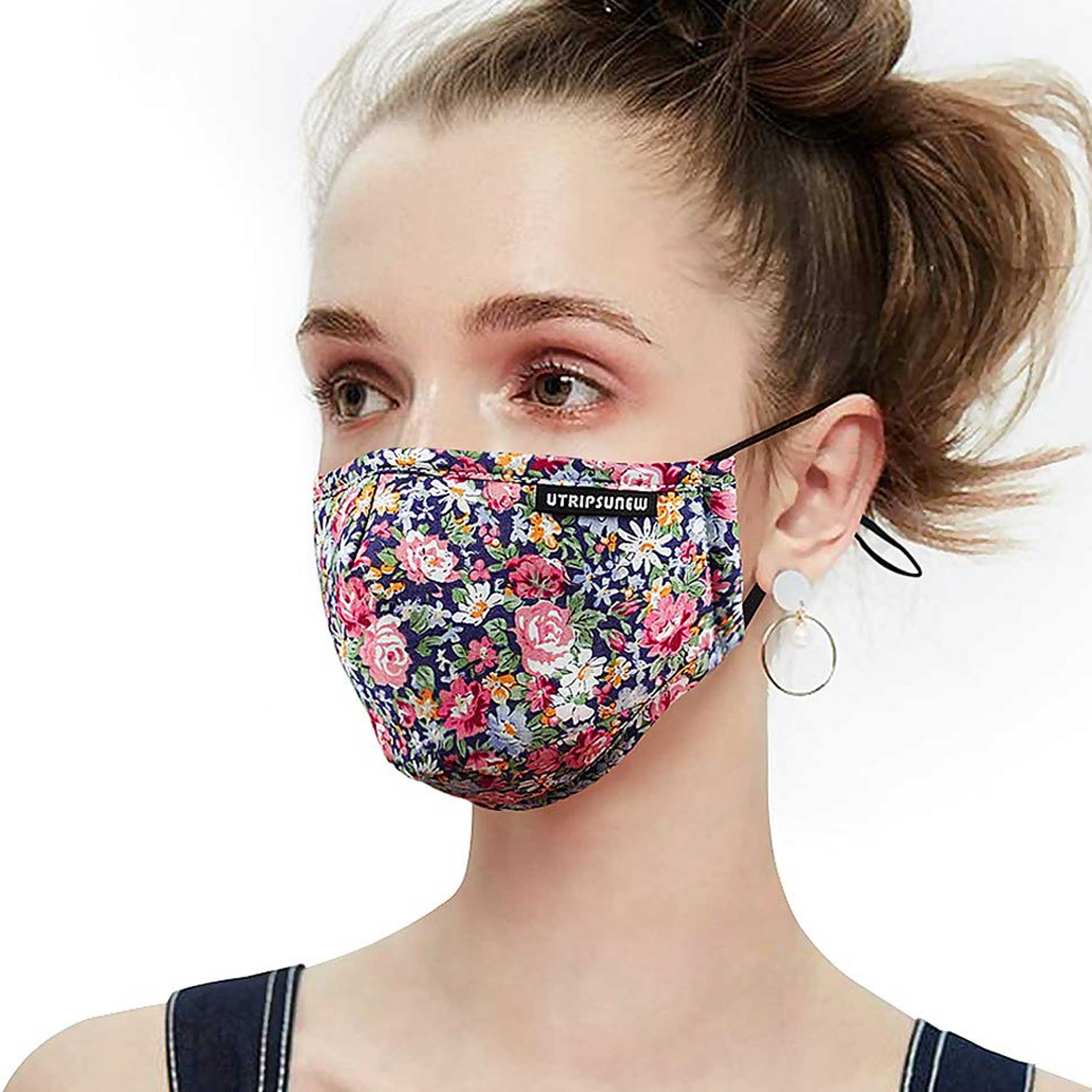 UTRIPSUNEW Anti Pollution Dust Mask Washable and Reusable