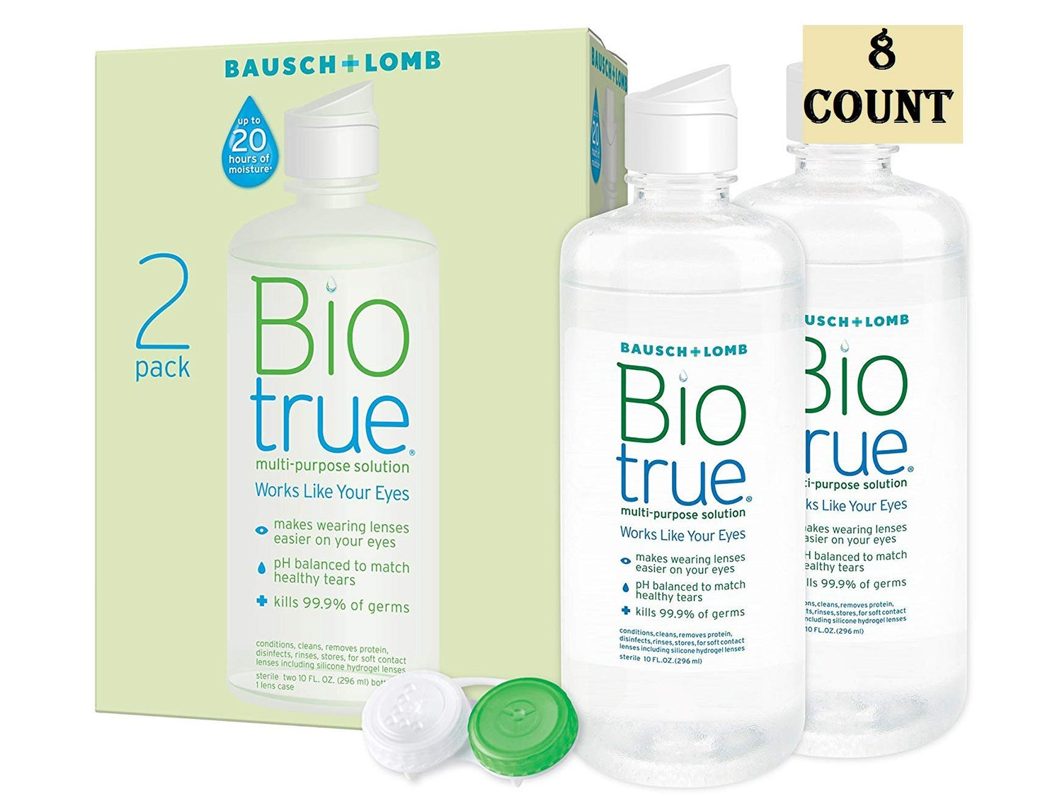 Biotrue Contact Lens Solution for Soft Contact Lenses