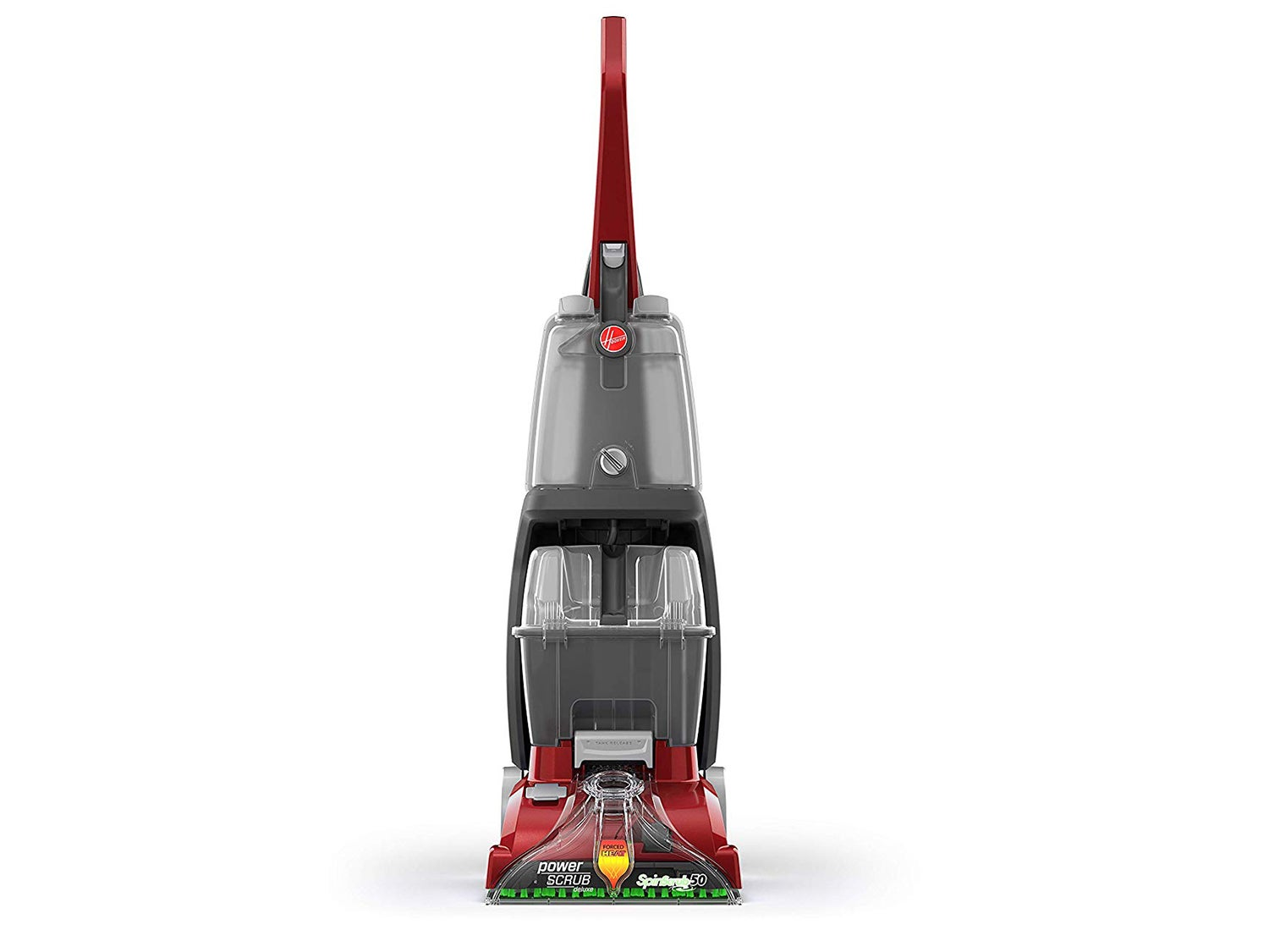 Hoover FH50150 Power Scrub Deluxe Carpet Cleaner Machine, Upright Shampooer