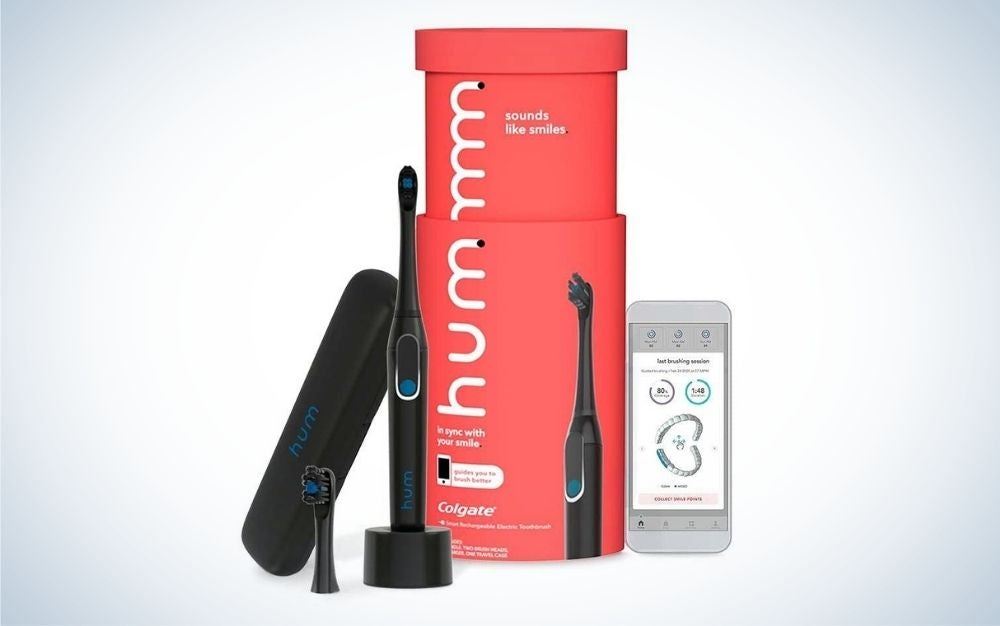 hum by Colgate is the best sonic toothbrush for travel.