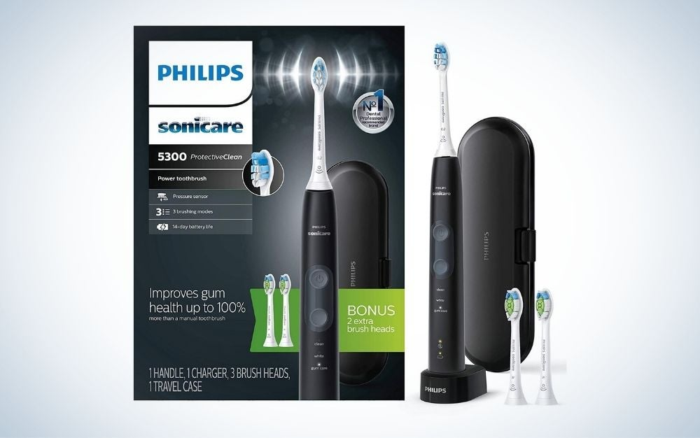 Philips Sonicare Protective Clean 5300 is the best sonic toothbrush splurge.