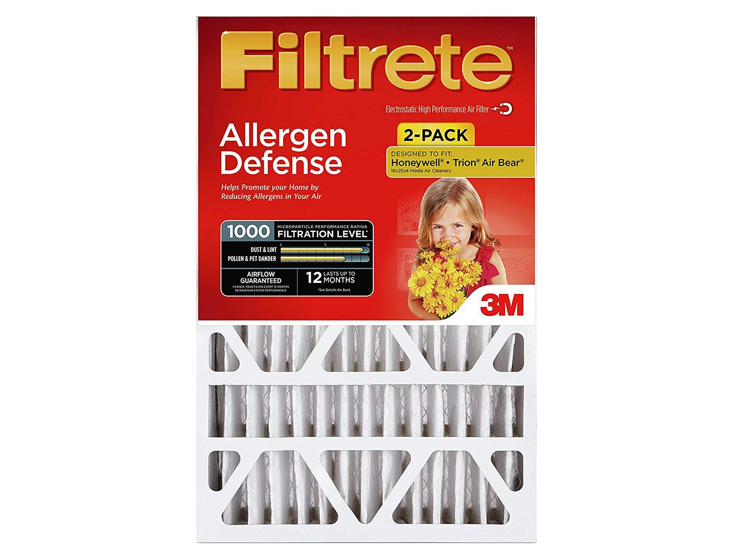 Filtrete 20x25x4, AC Furnace Air Filter