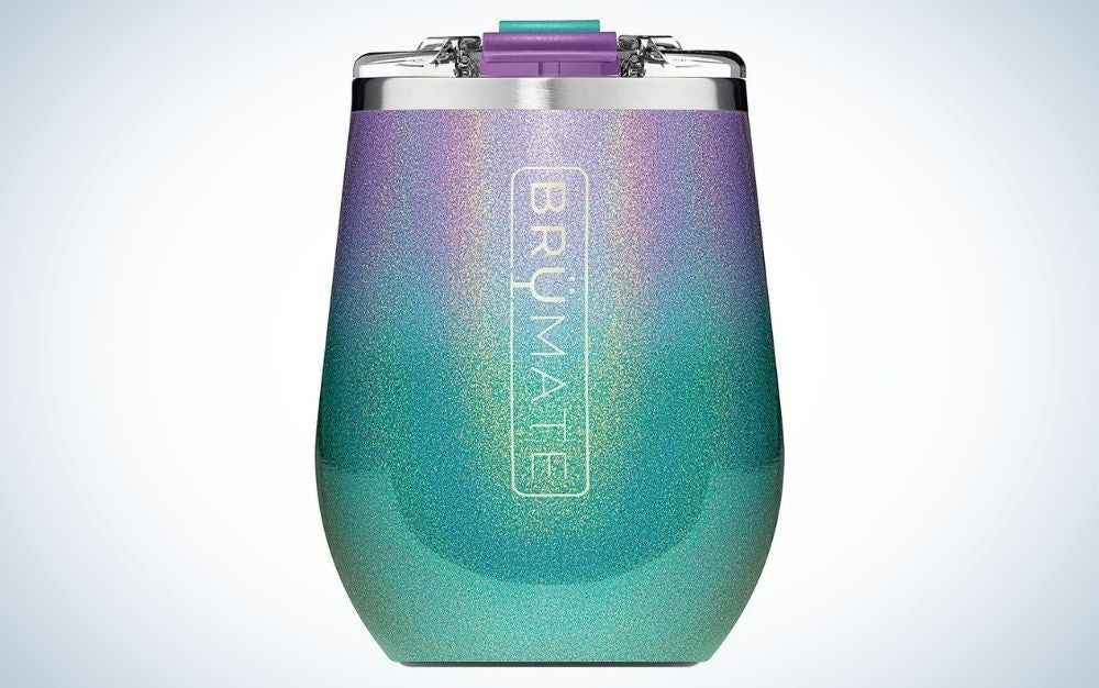 The BrüMate Uncork'd XL Insulated Wine Glass Tumbler is the best wine tumbler.