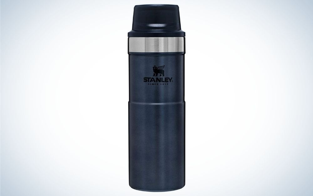 The Stanley Classic Trigger Action Travel Mug is the best value.
