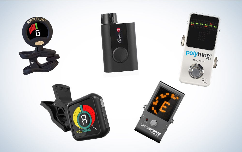 These are our picks for the best guitar tuners on Amazon.