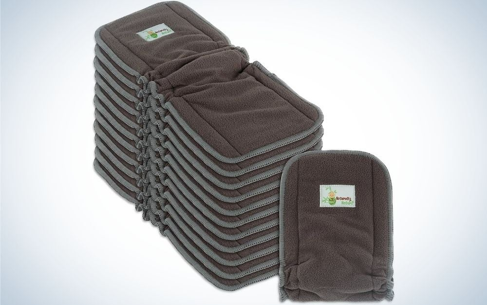 Naturally Nature Cloth Diaper Inserts are the best reusable diaper inserts.