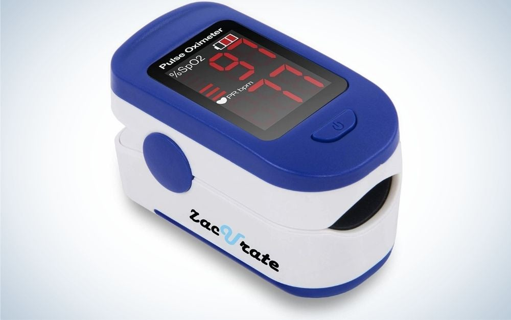 The Zacurate 500BL Fingertip Pulse Oximeter Blood Oxygen Saturation Monitor is the best value.