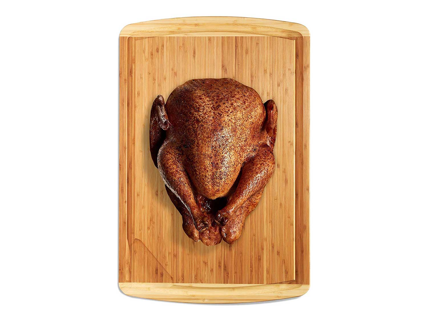Extra Large Wood Butcher Block Cutting Board for Carving Turkey