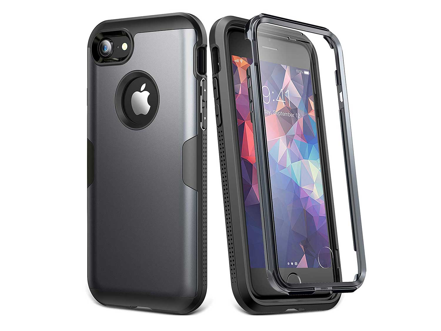 YOUMAKER Case for iPhone 8 & iPhone 7