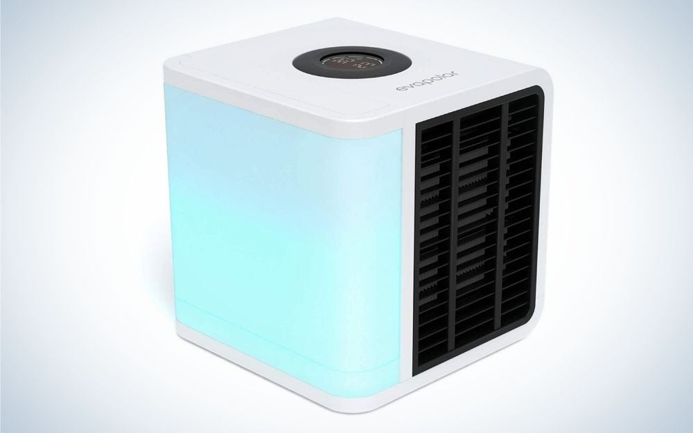 The Evapolar Portable Air Conditioner/Humidifier is the best for dry climates.