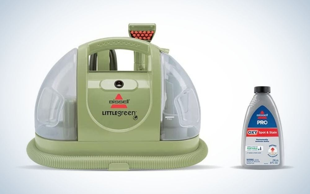 Bissell Little Green Upholstery Cleaner is the best overall sofa cleaner.