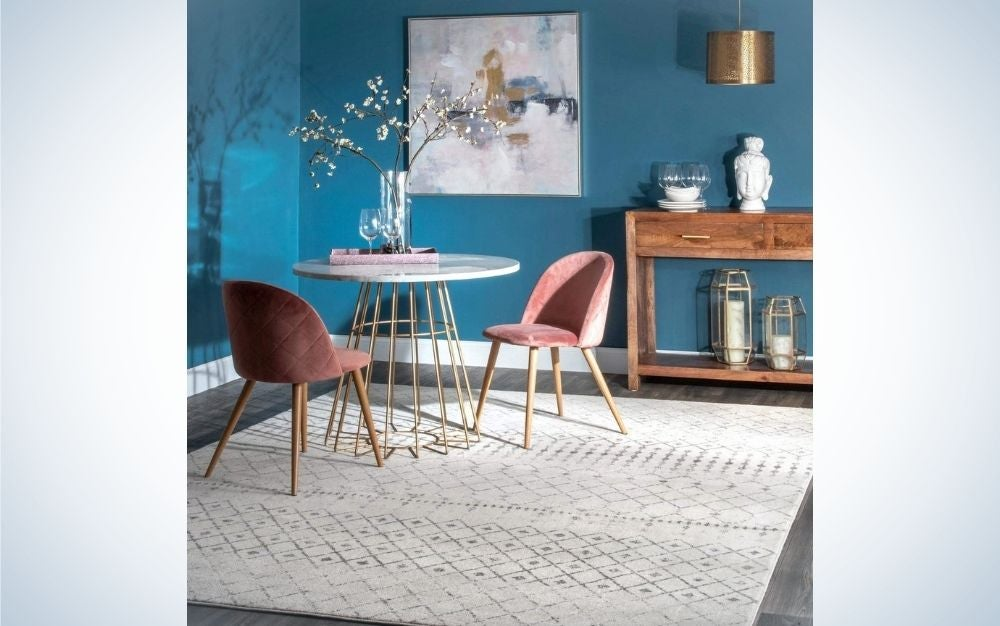 The nuLoom Moroccan Blythe Area Rug is the best overall.