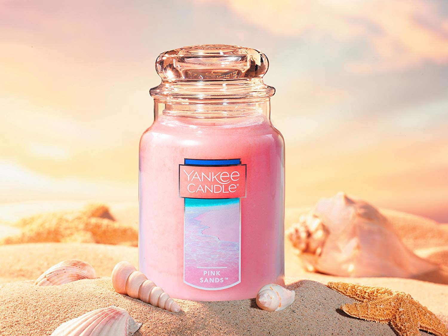 Yankee Candle Large 2-Wick Tumbler Candle, Pink Sands
