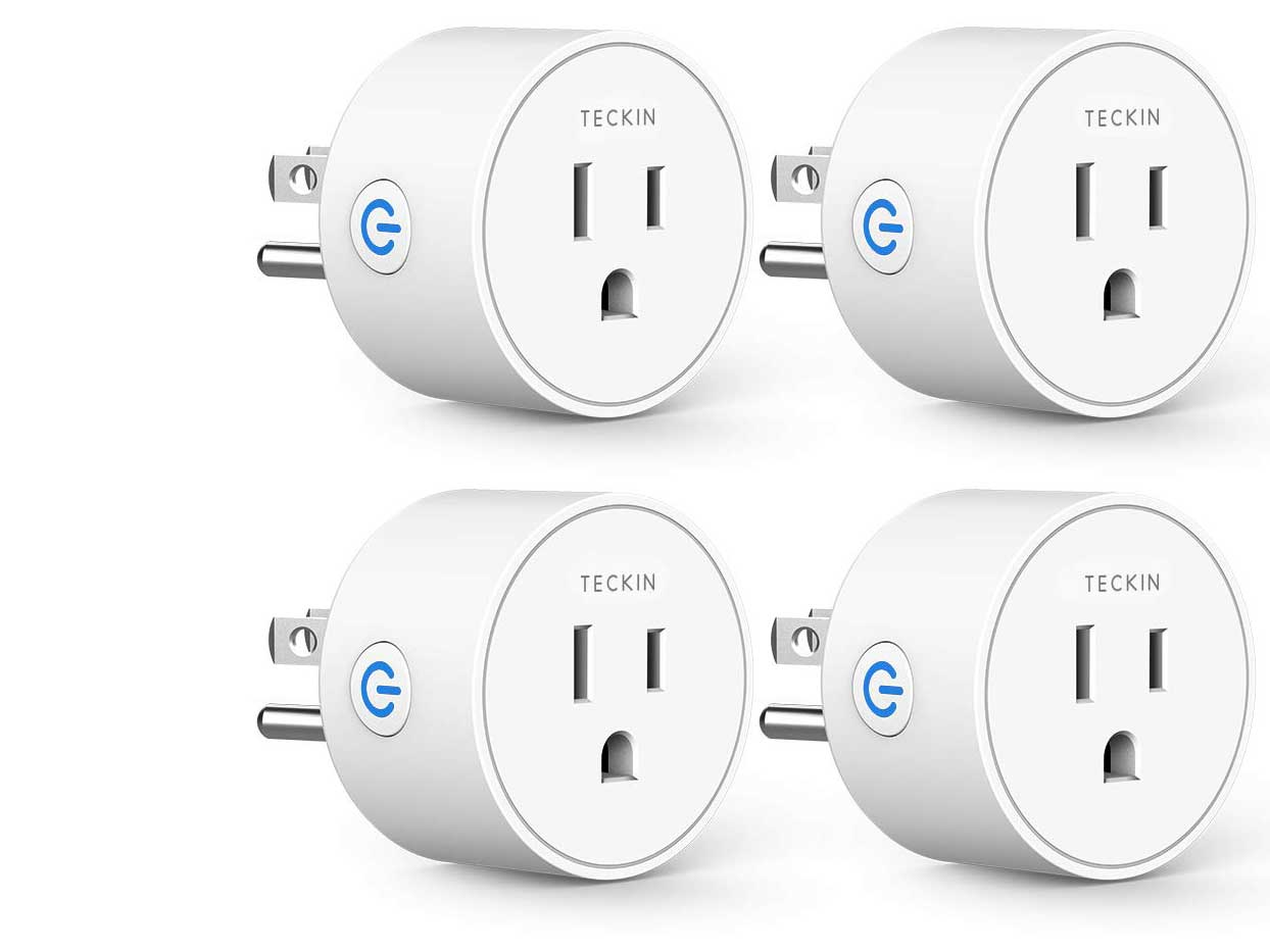 Smart Plug Compatible with Alexa Google Assistant for Voice Control