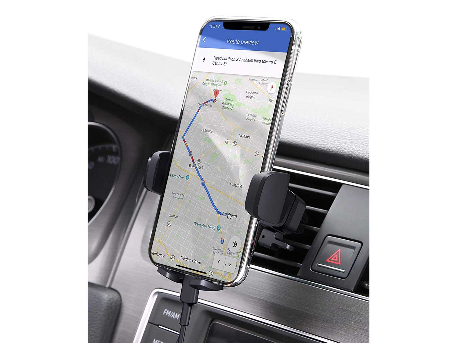 AUKEY Car Phone Mount Air Vent Cell Phone Holder for Car