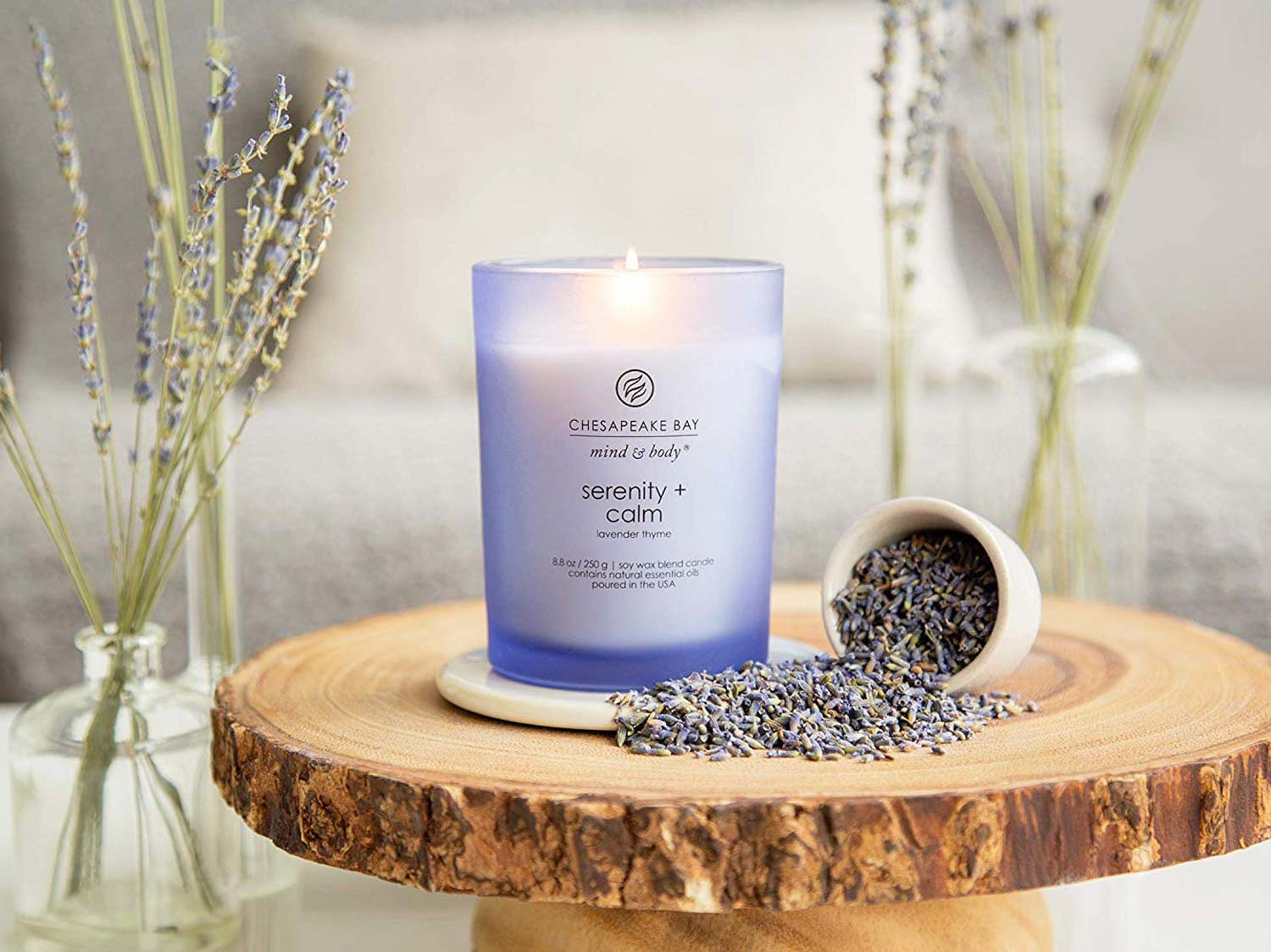 Chesapeake Bay Candle Scented Candles, Serenity + Calm
