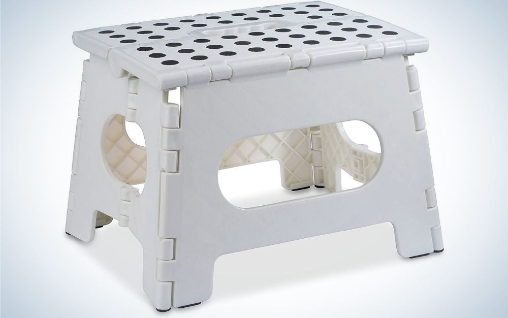 The Handy Laundry Folding Step Stool is the best value.