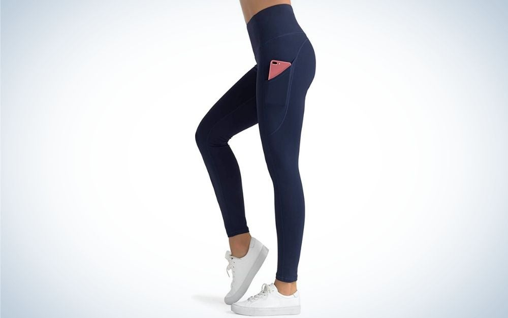 The Dragon Fit High Waist Yoga Leggings are the best leggings with pockets