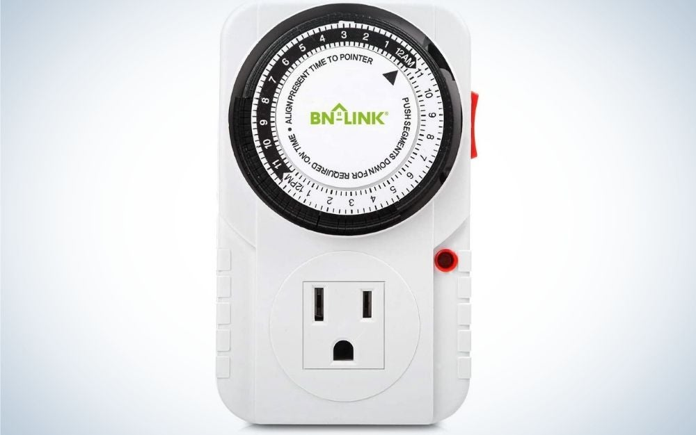 The BN-LINK 24 Hour Plug-in Mechanical Timer is the best value