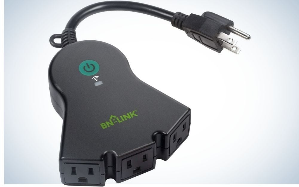 The BN-LINK Smart WiFi Heavy Duty Outdoor Outlet is the best outdoor.