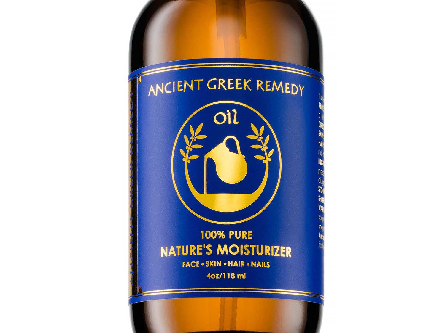 Organic Blend of Olive, Lavender, Almond and Grapeseed oils with Vitamin E