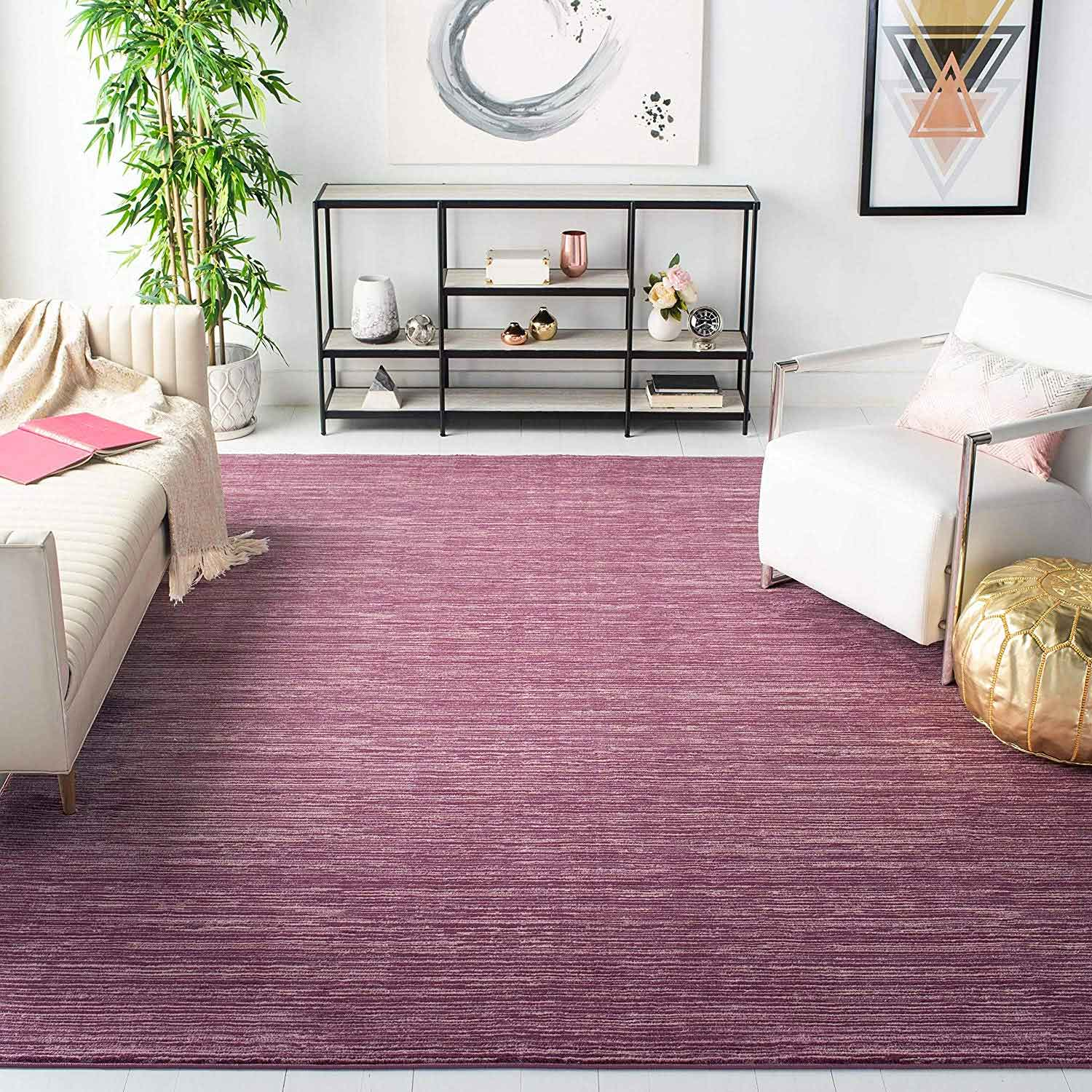 Safavieh Vision Collection Modern Contemporary Ombre Tonal Chic Area Rug