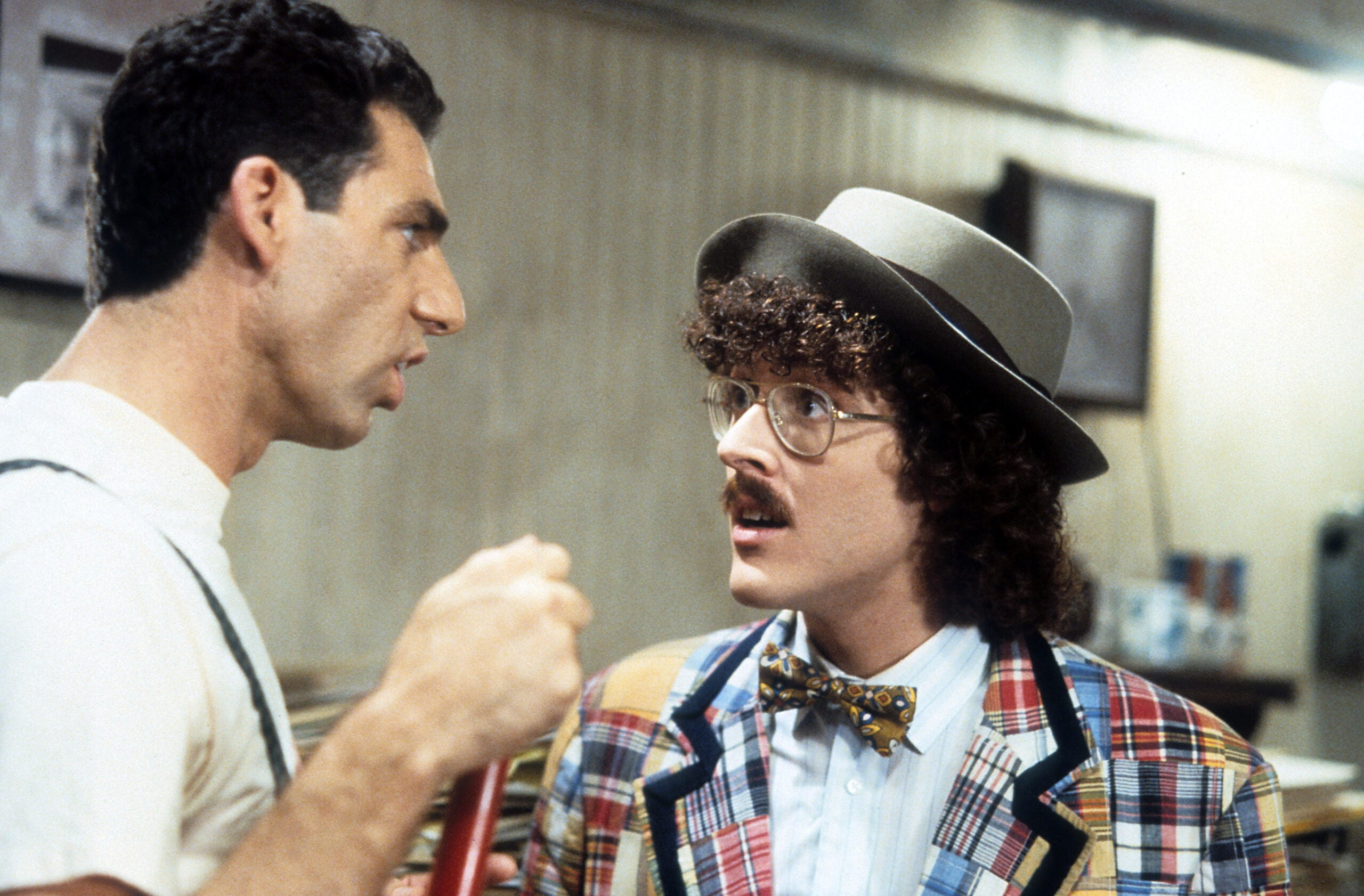 Michael Richards And 'Weird Al' Yankovic In 'UHF'