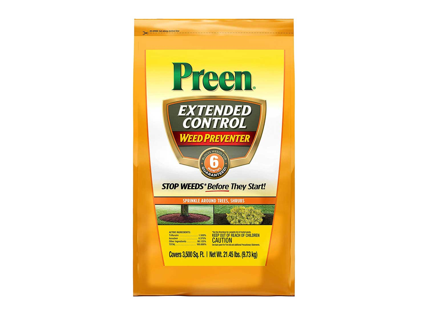Preen 2464238 Extended Control Weed Preventer