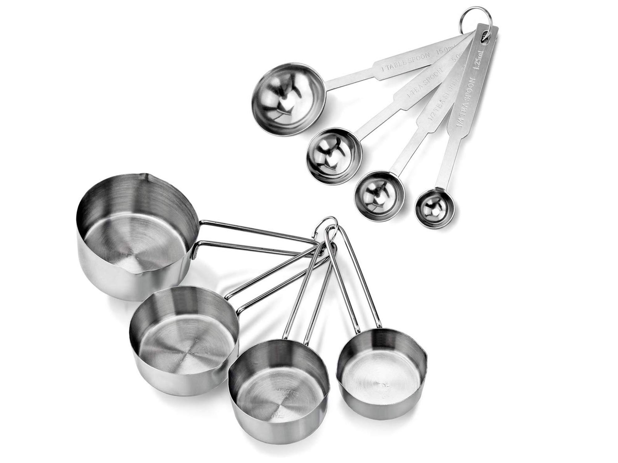 New Star Foodservice Stainless Steel Measuring Spoons