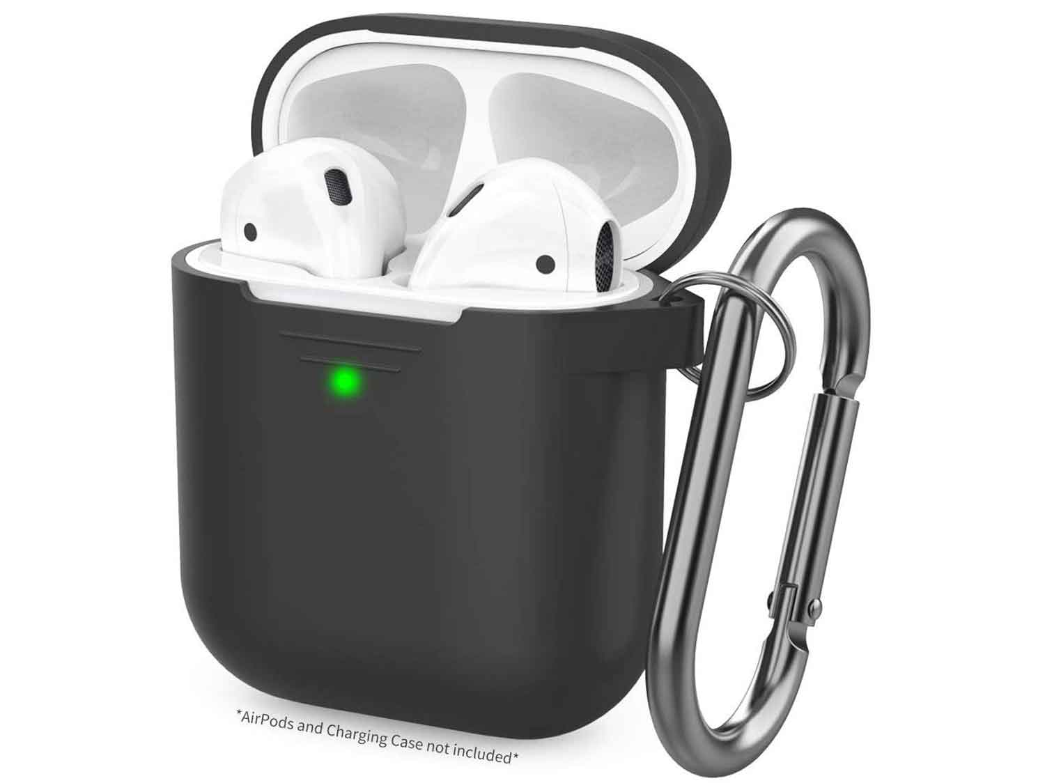 AhaStyle Upgrade AirPods Case Silicon Protective Cover