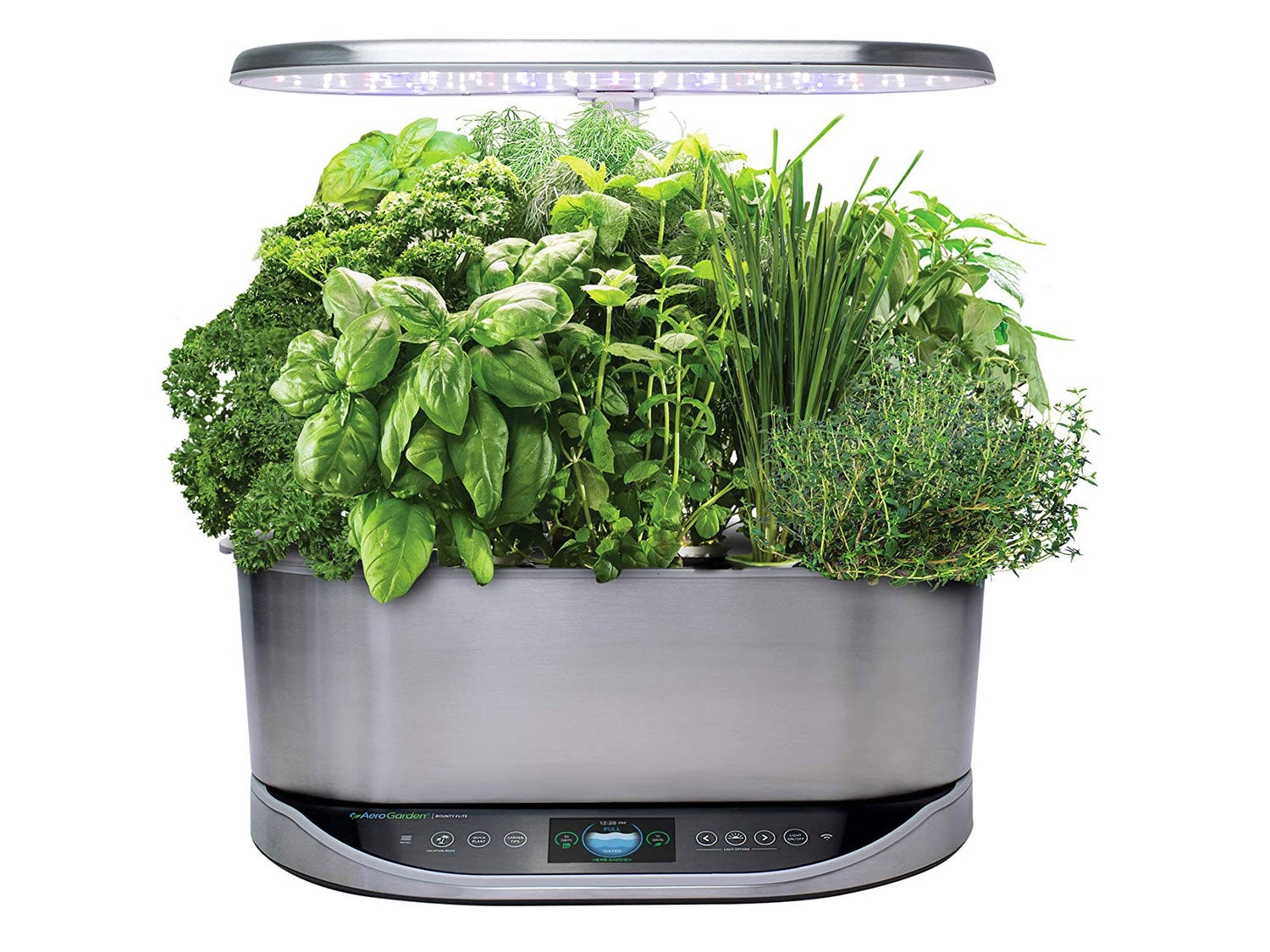 AeroGarden Bounty Elite Indoor Hydroponic Herb Garden