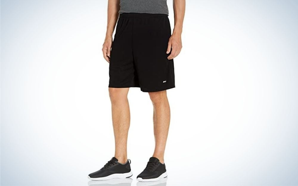 The Amazon Essentials Men's Running Shorts are the best value.