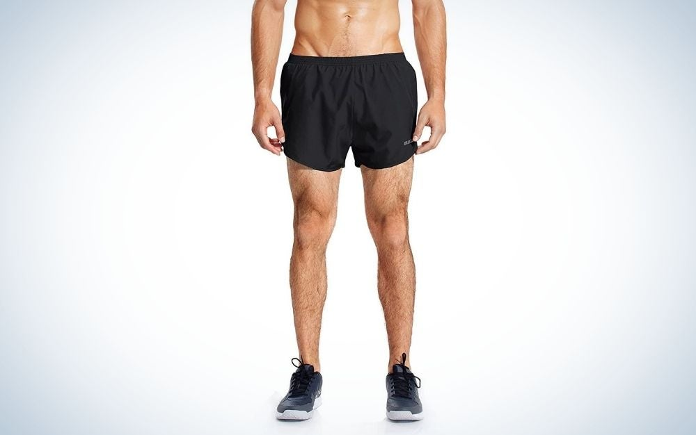 """The Baleaf 3"""" Running Shorts are the best mens' running shorts for the minimalist."""