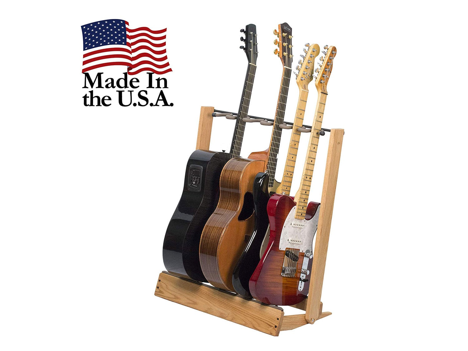 Guitar Stand for 6 Electric or Bass,or 3 Acoustic Guitars