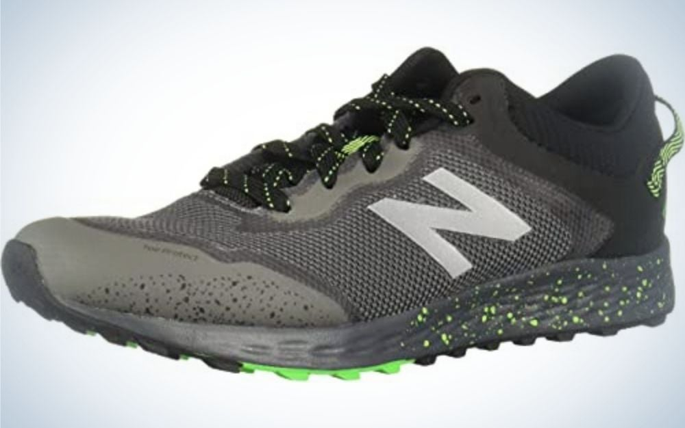 New Balance Fresh Foam Arishi V1s are our pick for the best kids hiking shoes for trail running.