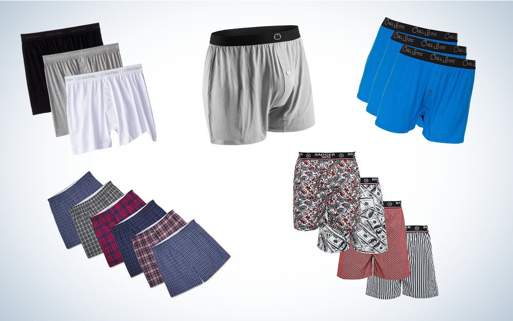 These are our picks for the best men's boxers on Amazon.