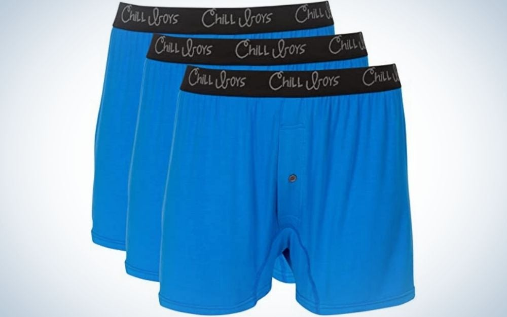 The Chill Boys Soft Bamboo Boxers are the softest men's boxers.