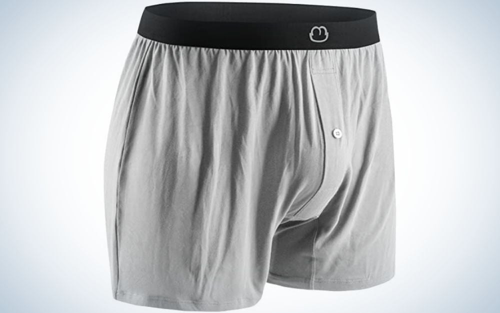 The Morniunder Bamboo Men's Boxers are the roomiest men's boxers overall.
