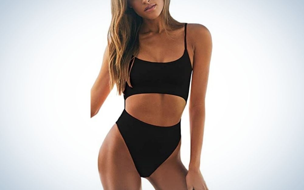The Meyeeka Women's Cut Out Monokini is the best cut out.