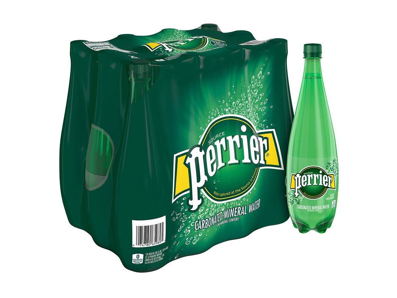 Perrier Carbonated Mineral Water
