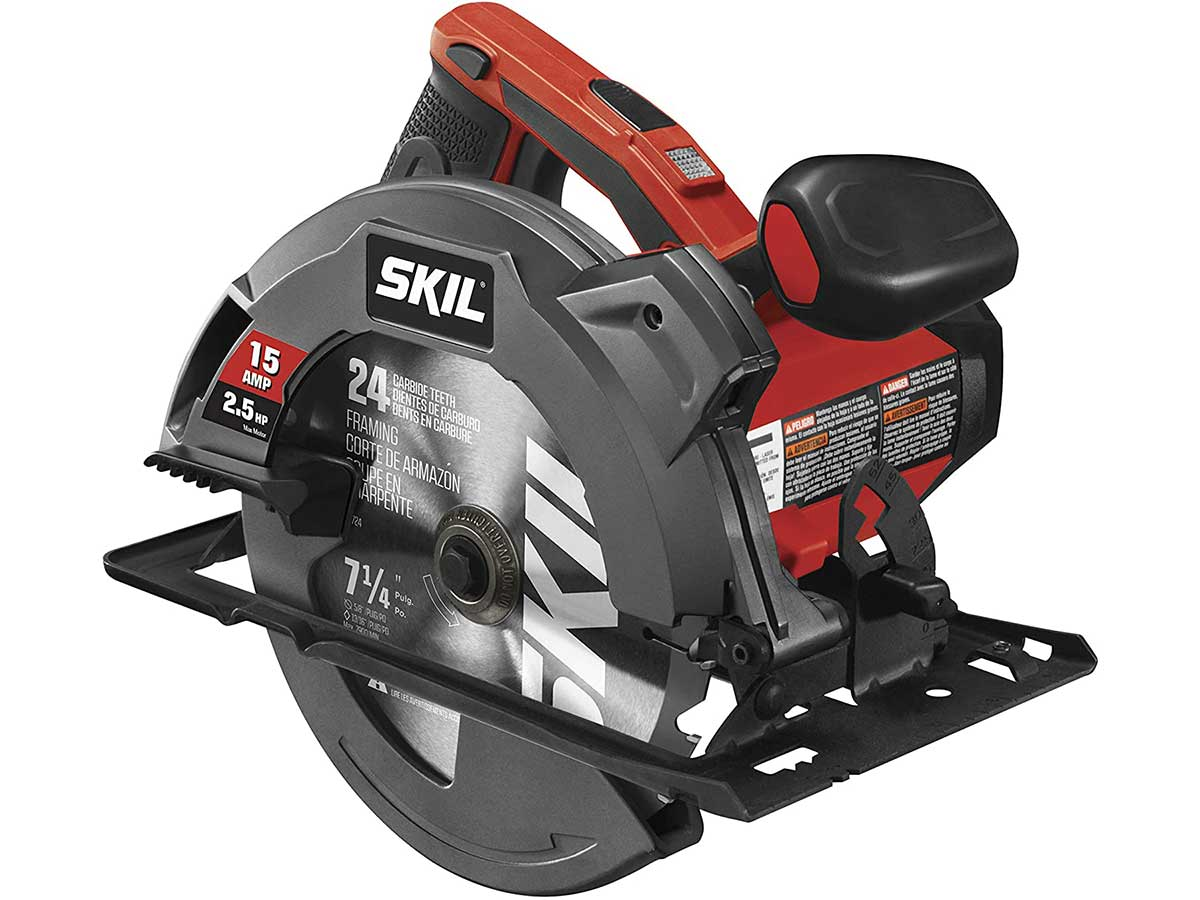 Circular Saw with Single Beam Laser Guide