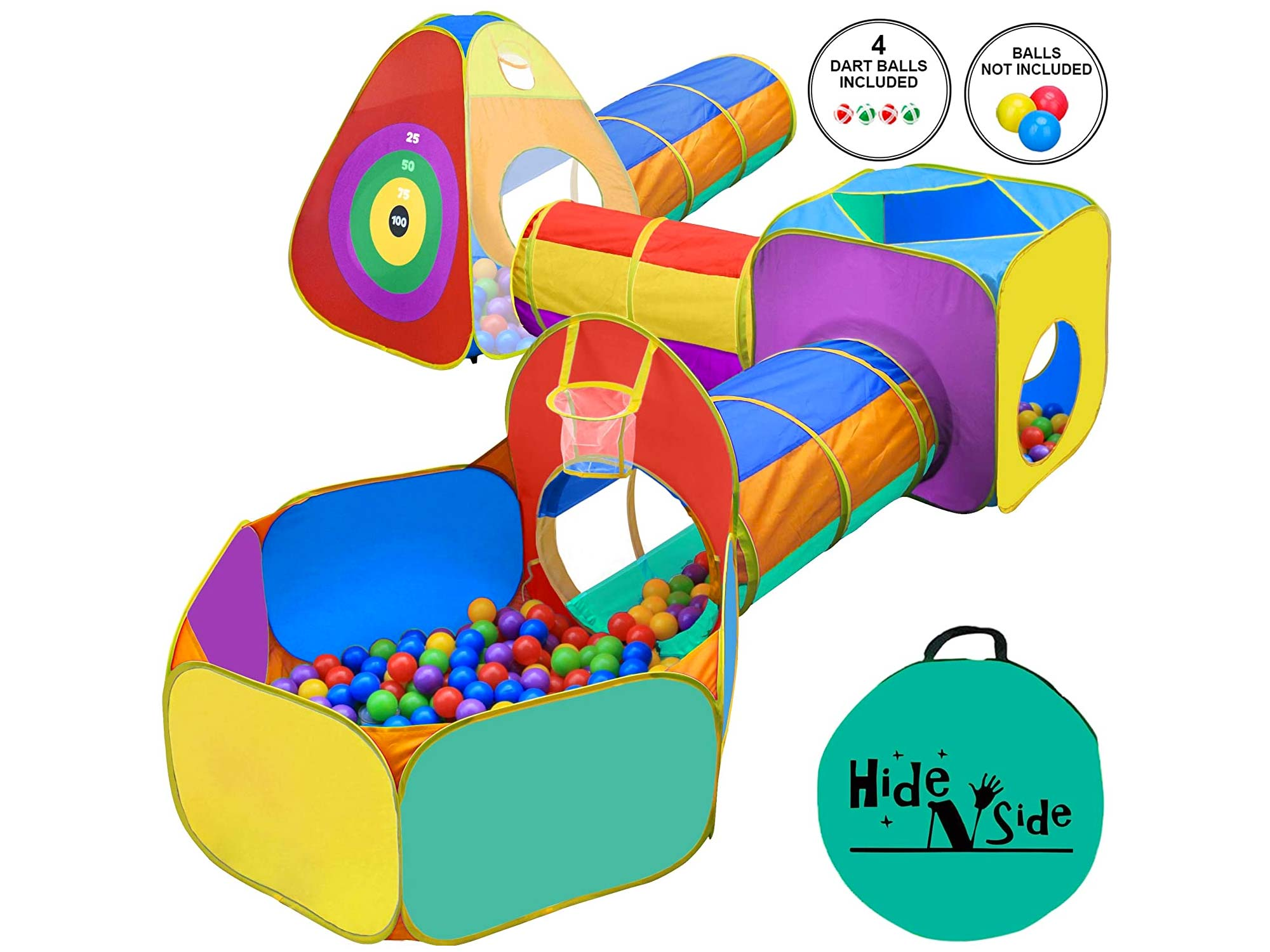 Toddler Boys & Girls, Ball Pit, Play Tent and Tunnels for Kids