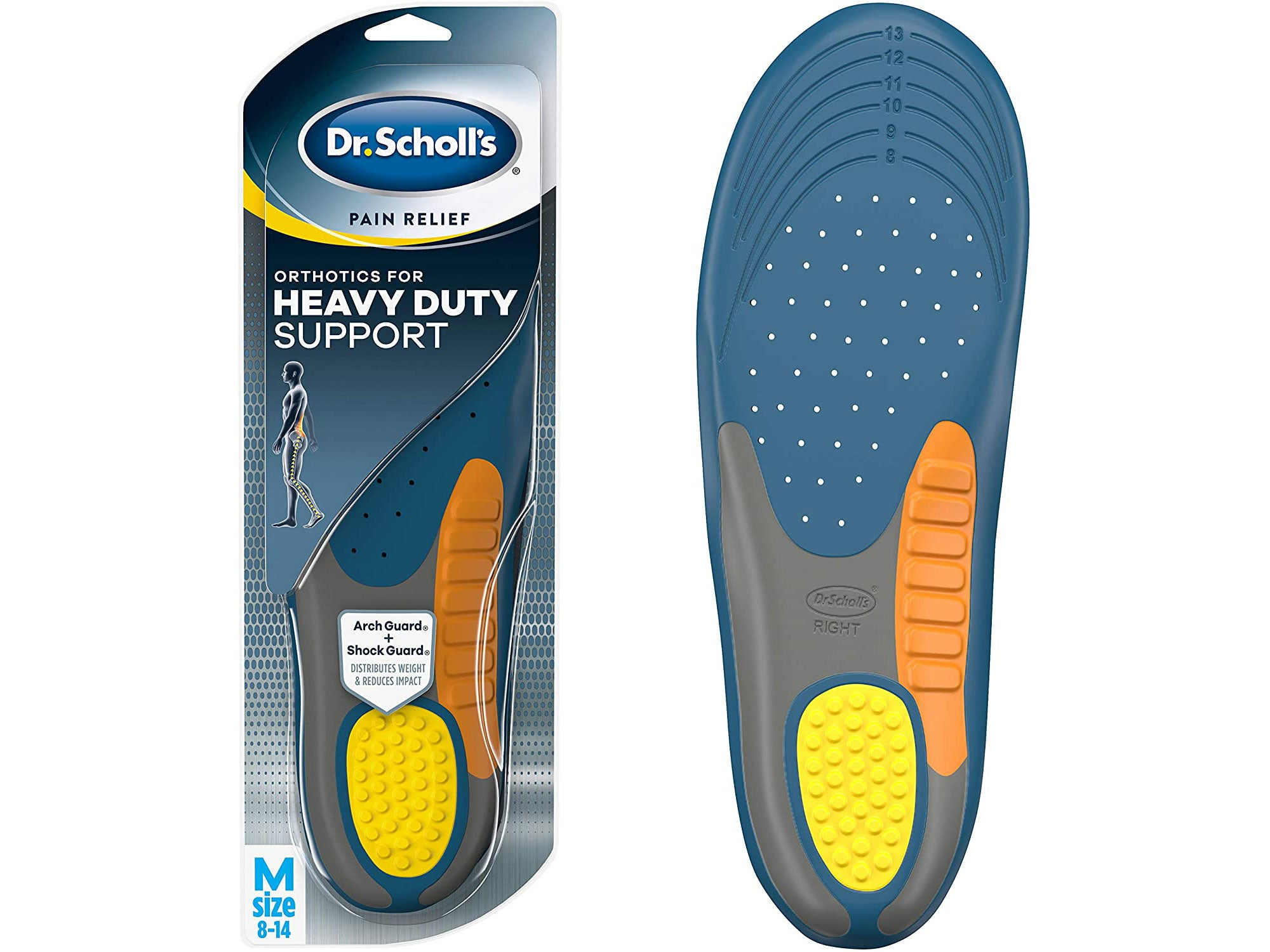 Dr. Scholl's Heavy Duty Support Pain Relief Orthotics