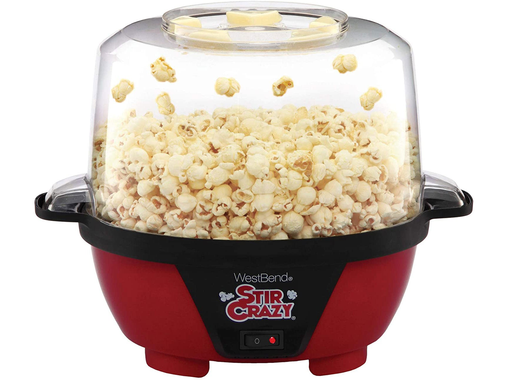 West Bend 82505 Stir Crazy Electric Hot Oil Popcorn Popper