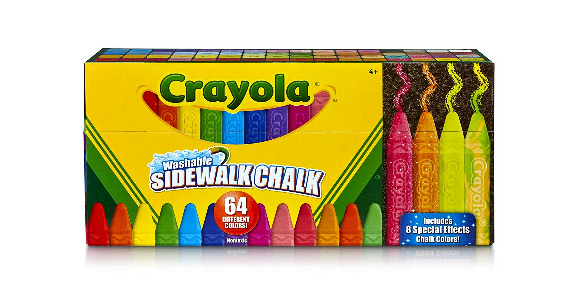 Crayola Sidewalk Chalk, Washable, Outdoor, Gifts for Kids