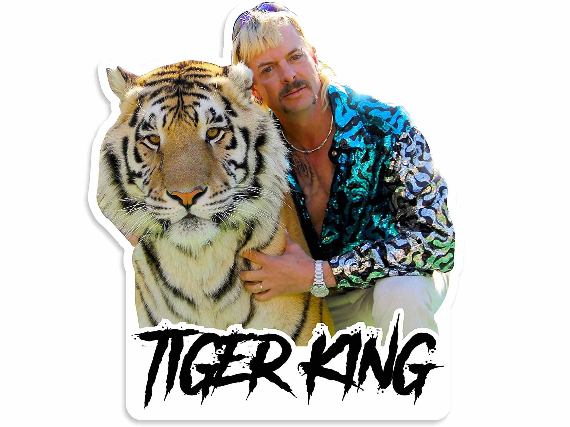 Tiger King guy with tiger