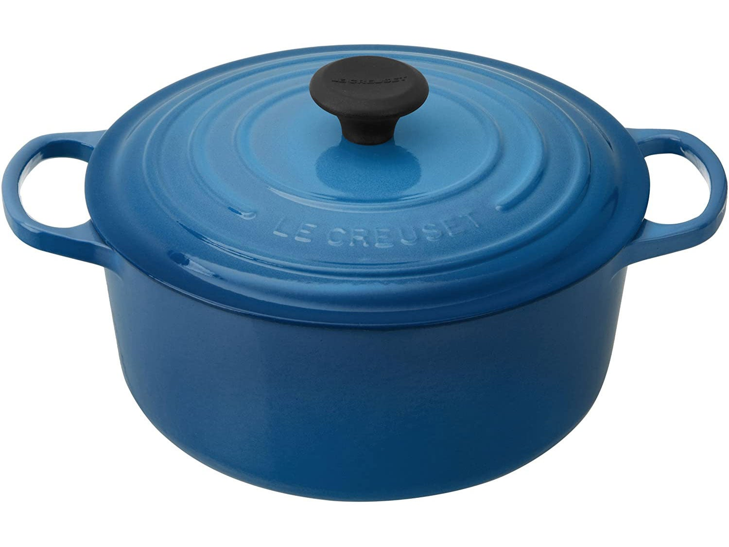 Le Creuset LS2501-2659 Signature Enameled Cast-Iron Round French (Dutch) Oven
